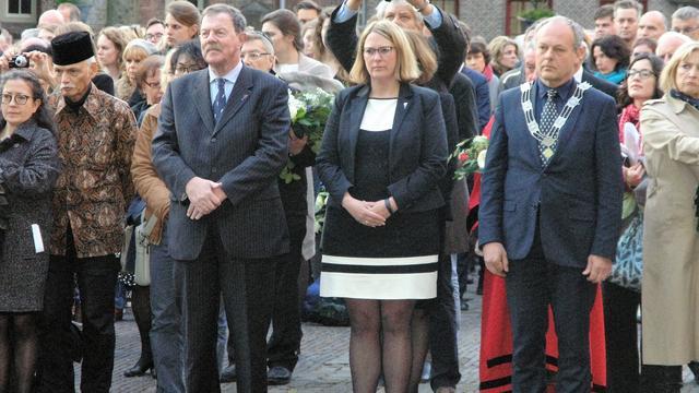 Hier zijn de dodenherdenkingen in Leiden