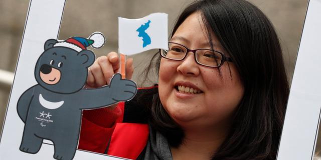 Noord- en Zuid-Korea onder één vlag bij openingsceremonie Winterspelen
