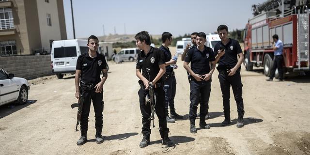 Twee Turkse militairen komen om door explosie