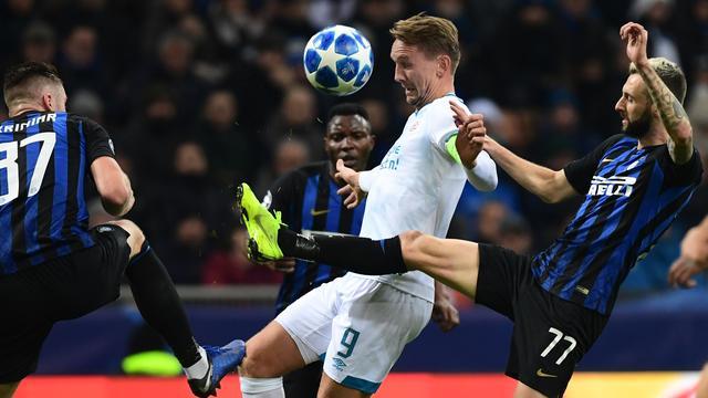 PSV sluit Europees seizoen af met gelijkspel bij Internazionale
