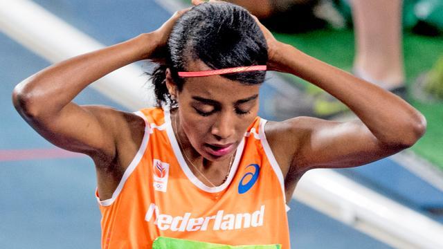 Sifan Hassan grijpt naast medaille op 1500 meter
