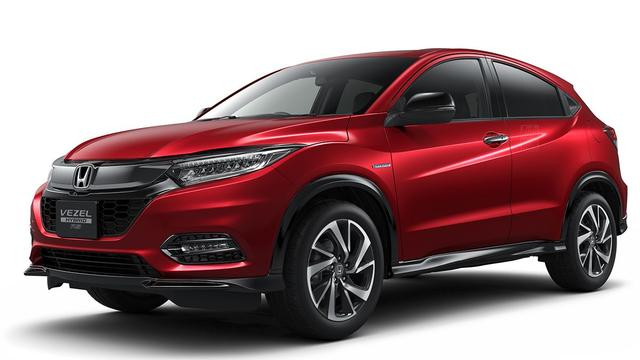 Japanse Honda HR-V gefacelift