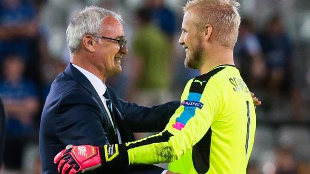 Boze Schmeichel ontkent invloed spelers op ontslag Ranieri