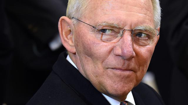 Duitse minister van Financiën Schäuble wil dat ECB beleid normaliseert
