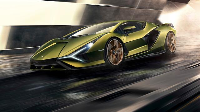 Lamborghini onthult zijn eerste hybride sportwagen Sian