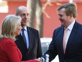 Derde bezoek in vier jaar tijd toon volgens koning aan dat banden Nederland en China 'hecht zijn'