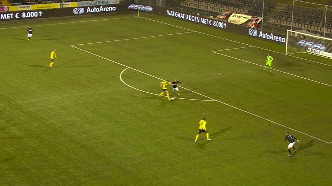 Samenvatting VVV-Venlo-FC Eindhoven (1-0)