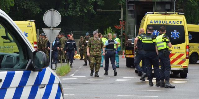 Veertien gewonden door blikseminslag op militaire basis Ossendrecht