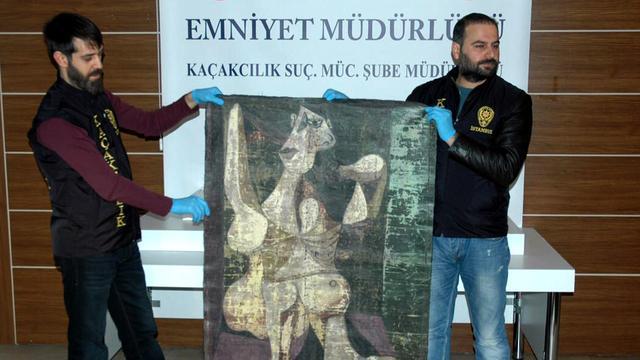 In New York gestolen Picasso gevonden in Istanbul