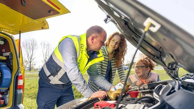 De beste hulp altijd dichtbij met Wegenwacht® Nederland Standaard