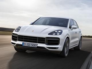De nieuwe Porsche Cayenne is pas vorige maand onthuld, maar nu is er al een nieuwe topversie: de Turbo