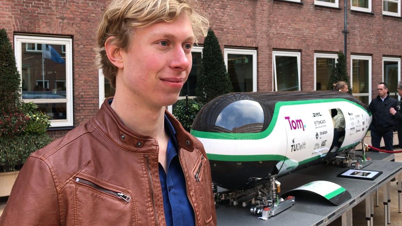 Nederlandse startup hoopt dat we binnen tien jaar in Hyperlooptrein rijden