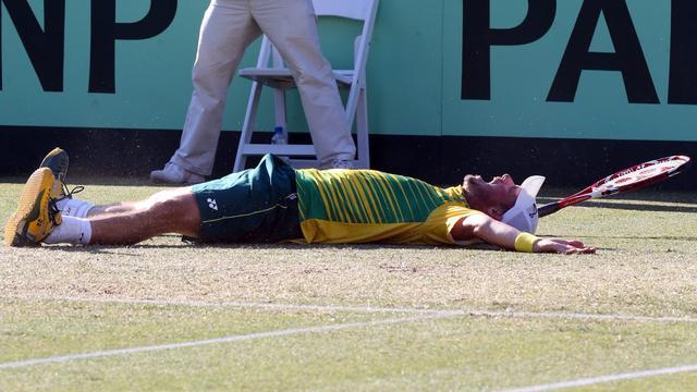 Hewitt bezorgt Australië plek in halve finales Davis Cup