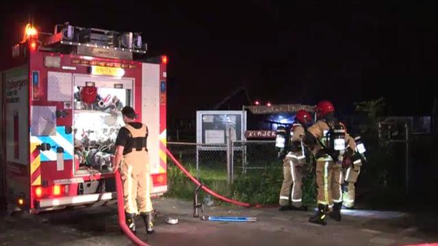 Kippen omgekomen bij brand kinderboerderij in Noord