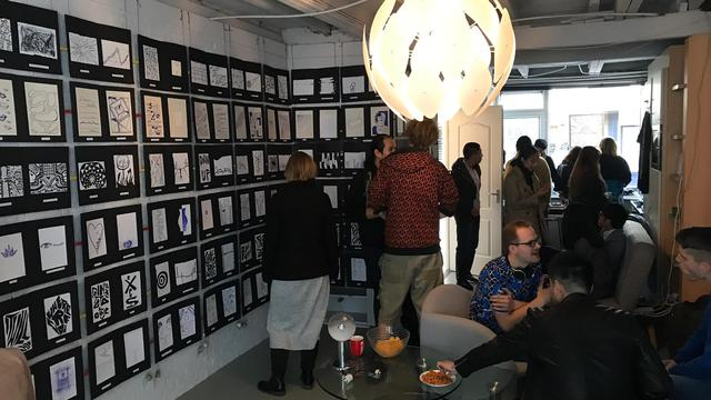 Jonge kunstenaars openen pop-up galerie in Herenstraat