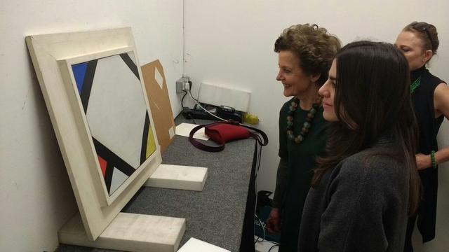 Recent aangeschaft werk Theo van Doesburg gratis te zien in stadhuis Leiden