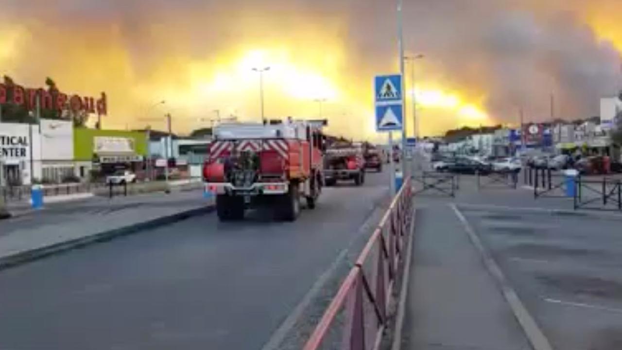 Gewonden door natuurbranden in Zuid-Frankrijk