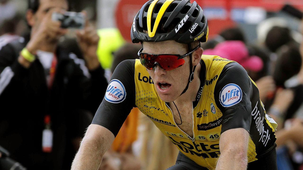 Kruijswijk stijgt in voorlaatste bergrit naar derde plek in Vuelta