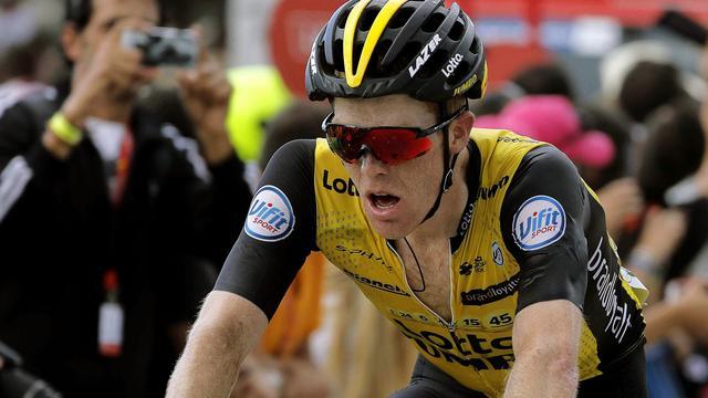 Kruijswijk spreekt van 'goede dag' na behoud plek vijf in zware Vuelta-rit