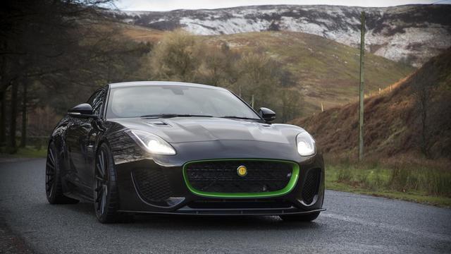 Lister aan de slag met Jaguar F-Type