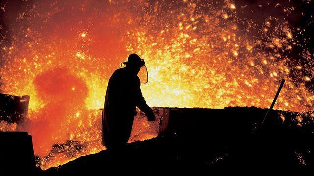 Wereldwijde staalproductie gedaald in april
