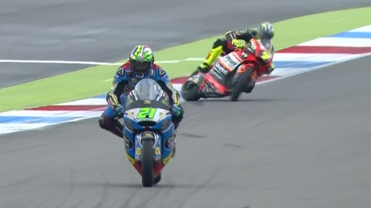 Harde crash Baldassarri in kwalificatie TT Assen