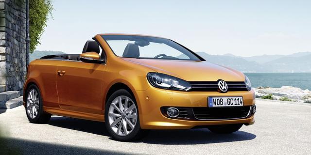 Volkswagen snijdt in Golf