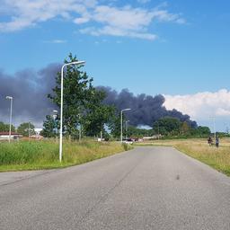Pas verbouwde kringloopwinkel Sneek verwoest door grote brand